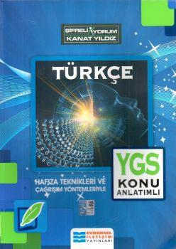 Evrensel İletişim Yayınları YGS Türkçe Konu Anlatımlı