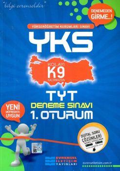 Evrensel İletişim YKS 1. Oturum TYT Türkçe Matematik K9 Deneme Sınavı
