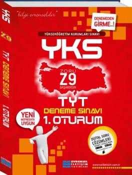 Evrensel İletişim YKS 1. Oturum TYT Z9 Türkçe Matematik Deneme Sınavı