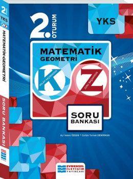 Evrensel İletişim Yayınları YKS 2. Oturum Matematik Geometri KZ Soru Bankası