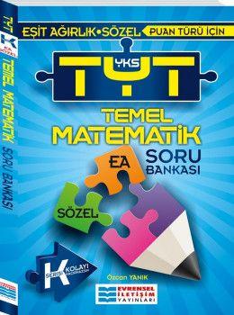 Evrensel İletişim YKS 1. Oturum TYT Temel Matematik K Serisi Soru Bankası