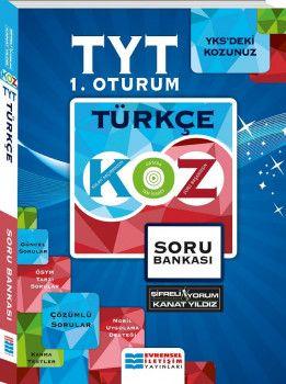 Evrensel İletişim YKS 1. Oturum TYT Türkçe KOZ Serisi Soru Bankası