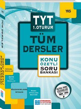 Evrensel İletişim Yayınları YKS 1. Oturum TYT Tüm Dersler Konu Özetli Soru Bankası