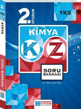 Evrensel İletişim Yayınları YKS 2. Oturum Kimya KZ Soru Bankası