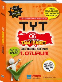 Evrensel İletişim YKS 1. Oturum TYT O6 Deneme Sınavı