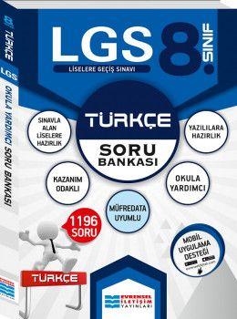 Evrensel İletişim Yayınları 8. Sınıf LGS Türkçe Soru Bankası