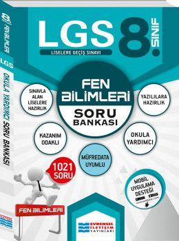 Evrensel İletişim Yayınları 8. Sınıf LGS Fen Bilimleri Soru Bankası