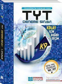 Evrensel İletişim YKS 1. Oturum TYT K9 Başlangıç Seviye Video Çözümlü Deneme Sınavı
