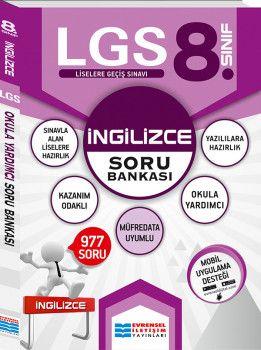Evrensel İletişim Yayınları 8. Sınıf LGS İngilizce Soru Bankası