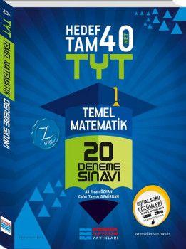Evrensel İletişim YKS 1. Oturum TYT Temel Matematik Hedef Tam 40 Net 20 Deneme Sınavı