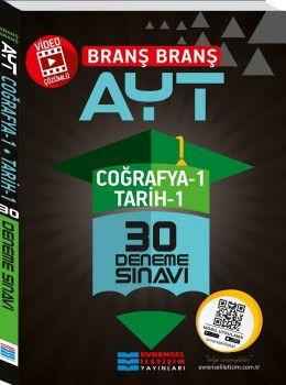 Evrensel İletişim Yayınları YKS 2. Oturum AYT Coğrafya 1 Tarih 1 Video Çözümlü 30 Deneme Sınavı