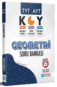 Evrensel İletişim TYT AYT Geometri Video Çözümlü Soru Bankası