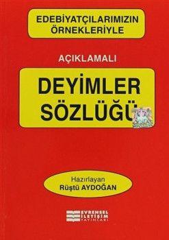 Evrensel İletişim Yayınları Deyimler Sözlüğü