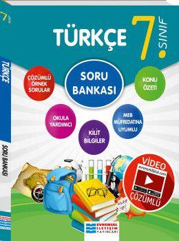 Evrensel İletişim Yayınları 7. Sınıf Türkçe Video Çözümlü Soru Bankası