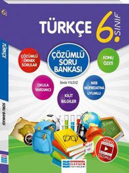 Evrensel İletişim Yayınları 6. Sınıf Türkçe Video Çözümlü Soru Bankası