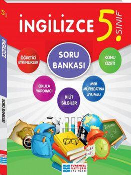 Evrensel İletişim Yayınları 5. Sınıf İngilizce Soru Bankası