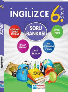 Evrensel İletişim Yayınları 6. Sınıf İngilizce Soru Bankası