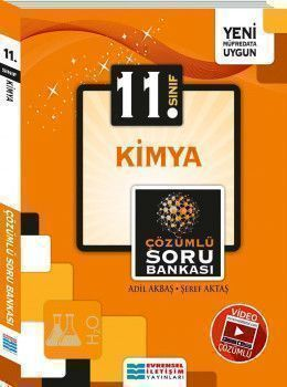Evrensel İletişim Yayınları 11. Sınıf Kimya Video Çözümlü Soru Bankası