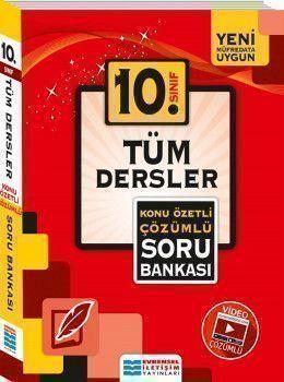 Evrensel İletişim 10.Sınıf Tüm Dersler Konu Özetli Çözümlü Soru Bankası