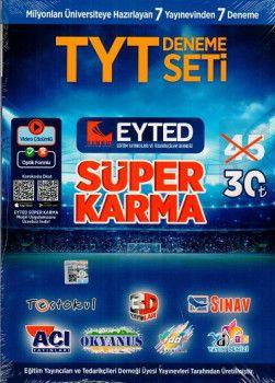 Eyted TYT 7 li Süper Karma Deneme Seti