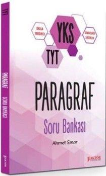 Faktör Yayınları TYT Paragraf Soru Bankası
