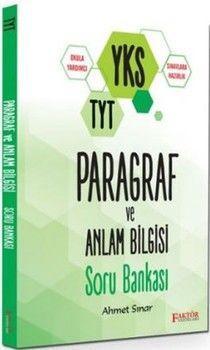 Faktör Yayınları TYT Paragraf ve Anlam Bilgisi Soru Bankası
