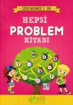 Fark Yayınları 3. Sınıf İlkokul Matematik Hepsi Problem Kitabı