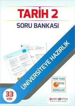 Farklı Sistem Yayınları AYT Tarih 2 Soru Bankası