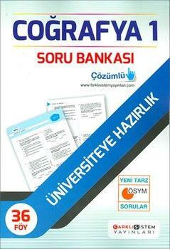 Farklı Sistem Yayınları TYT Coğrafya 1 Soru Bankası