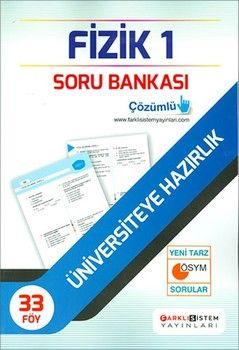 Farklı Sistem Yayınları TYT Fizik 1 Soru Bankası