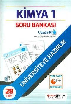 Farklı Sistem Yayınları TYT Kimya 1 Soru Bankası