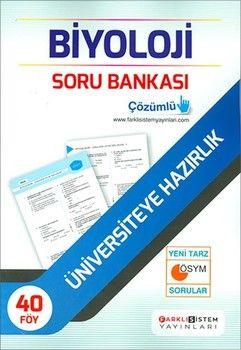 Farklı Sistem Yayınları TYT AYT Biyoloji Soru Bankası