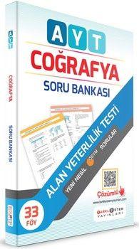 Farklı Sistem Yayınları AYT Coğrafya Soru Bankası