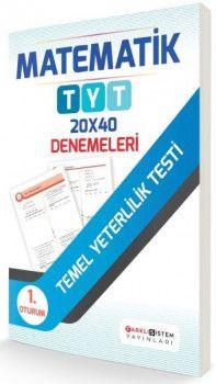 Farklı Sistem Yayınları YKS 1. Oturum TYT Matematik 20x40 Denemeleri