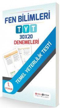 Farklı Sistem Yayınları YKS 1. Oturum TYT Fen Bilimleri 30x20 Denemeleri