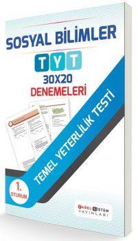 Farklı Sistem Yayınları TYT Sosyal Bilimler 30 x 20 Denemeleri