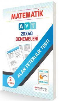 Farklı Sistem Yayınları AYT Matematik 20 x 40 Denemeleri