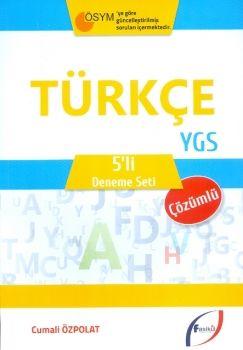 Fasikül Yayınları YGS Türkçe Çözümlü 5 li Deneme Seti