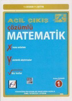 Fasikül Yayınları TYT Eksiden Artıya Acil Çıkış Çözümlü Matematik