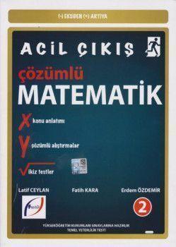 Fasikül Yayınları AYT Eksiden Artıya Acil Çıkış Çözümlü Matematik
