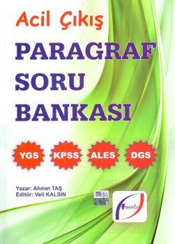 Fasikül Yayınları Acil Çıkış Paragraf Soru Bankası