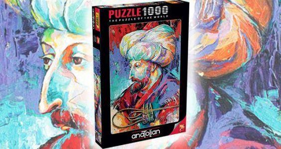 Fatih Sultan Mehmet  1000 Parça Puzzle - Yapboz