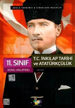 FDD 11. Sınıf T.C. İnkılap Tarihi ve Atatürkçülük Konu Anlatımlı