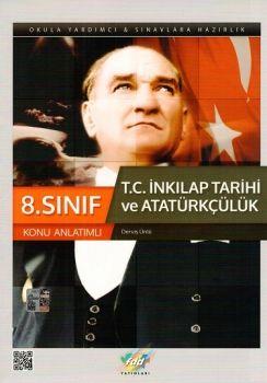 FDD 8. Sınıf T.C. İnkılap Tarihi ve Atatürkçülük Konu Anlatımlı