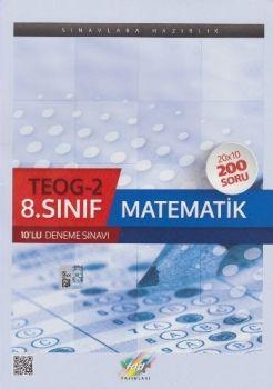 FDD 8. Sınıf TEOG 2 Matematik 10 lu Deneme Sınavı