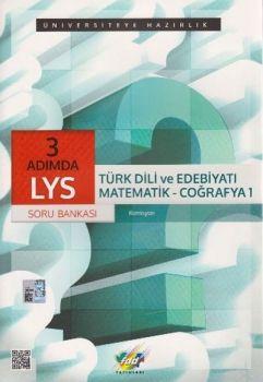 FDD LYS 3 Adımda Türk Dili ve Edebiyatı Matematik Coğrafya 1 Soru Bankası