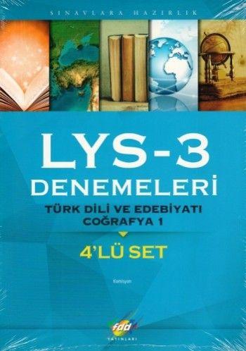 FDD LYS 3 Denemeleri 4\'Lü Set