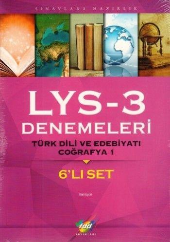 FDD LYS 3 Denemeleri 6\'Lı Set
