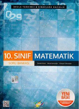 FDD Yayınları 10. Sınıf Matematik Soru Bankası