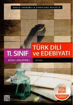 FDD Yayınları 11. Sınıf Türk Dili ve Edebiyatı Konu Anlatımlı